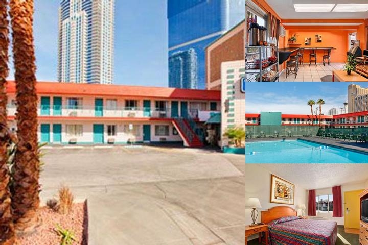 Travelodge Las Vegas photo collage