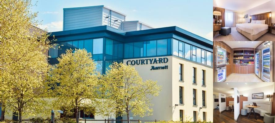 Courtyard by Marriott Glasgow Airport photo collage