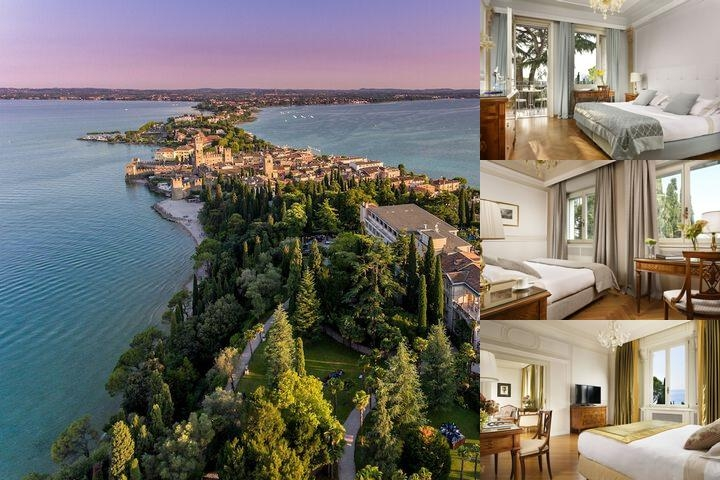 Villa Cortine Palace Hotel photo collage
