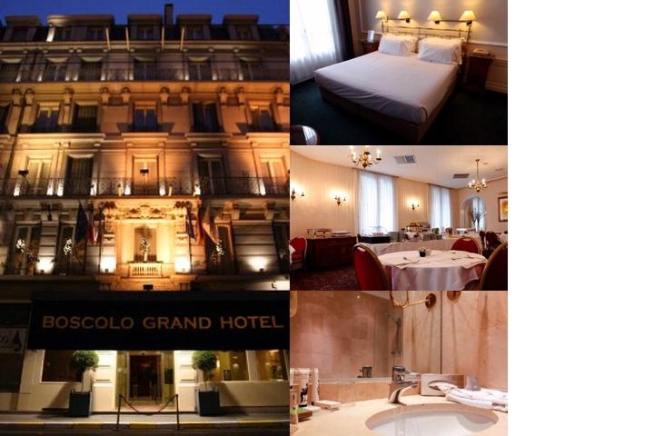 Grand Hotel a Boscolo First Class Hotel photo collage