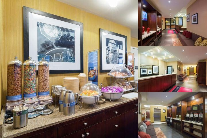 Hampton Inn Seaport photo collage