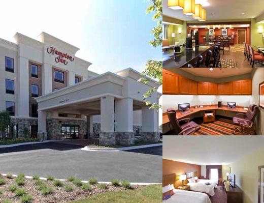 Hampton Inn Yorkville photo collage