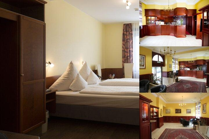 Top Hotel Amberger Wuerzburg photo collage