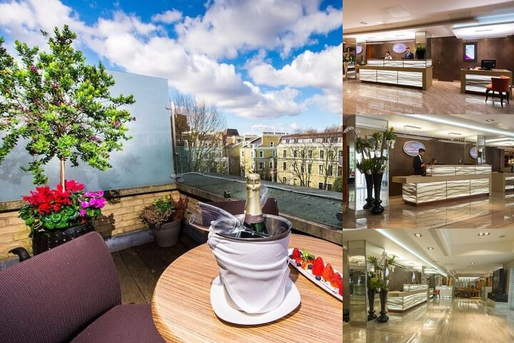 Crowne Plaza London Kensington photo collage