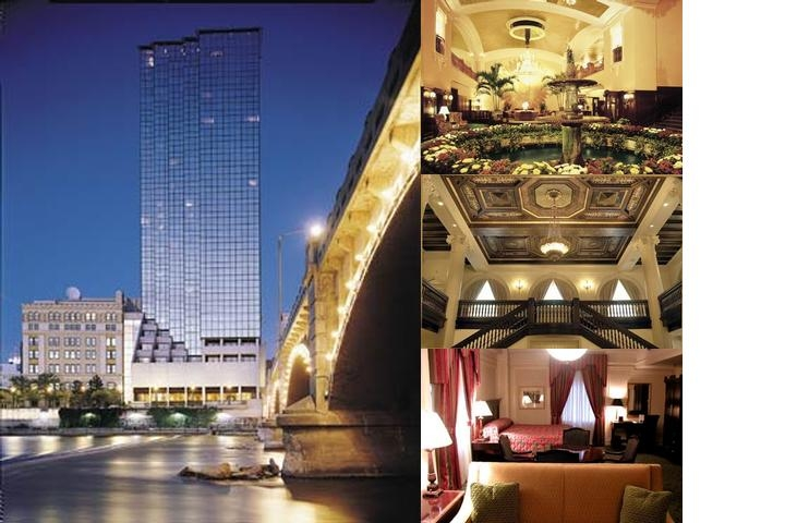 Amway Grand Plaza Hotel photo collage