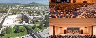 The Hotel Roanoke & Conference Center photo collage