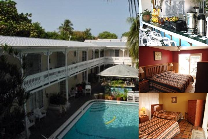 Palms Hotel photo collage