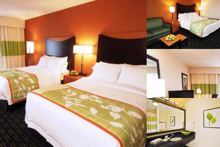 Fairfield Airport Hotel photo collage