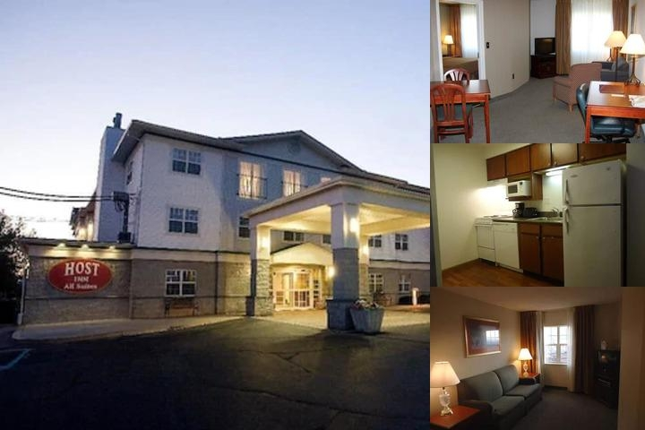 Host Inn All Suites photo collage