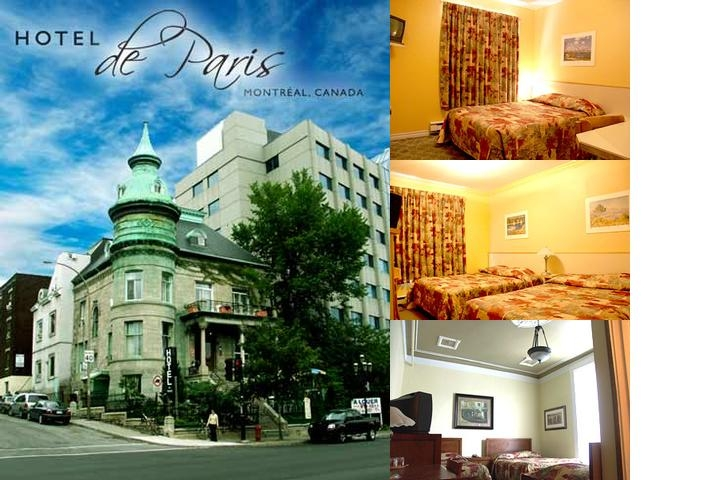 Hotel De Paris photo collage