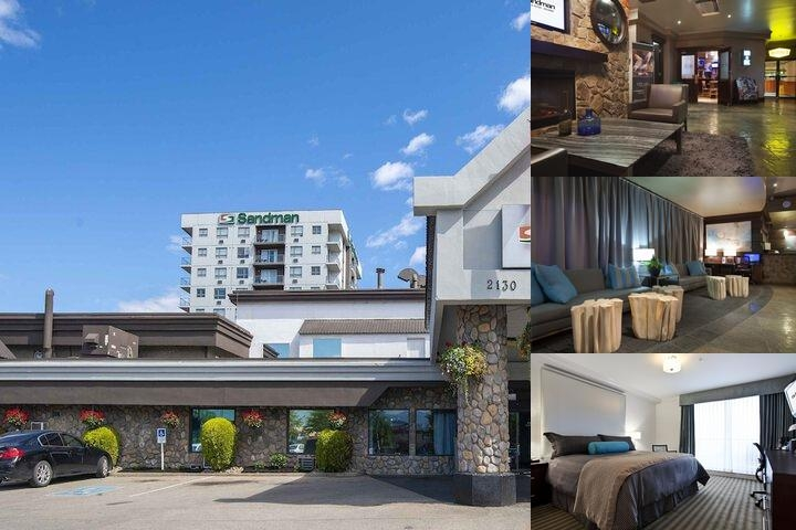 Sandman Hotel Kelowna photo collage