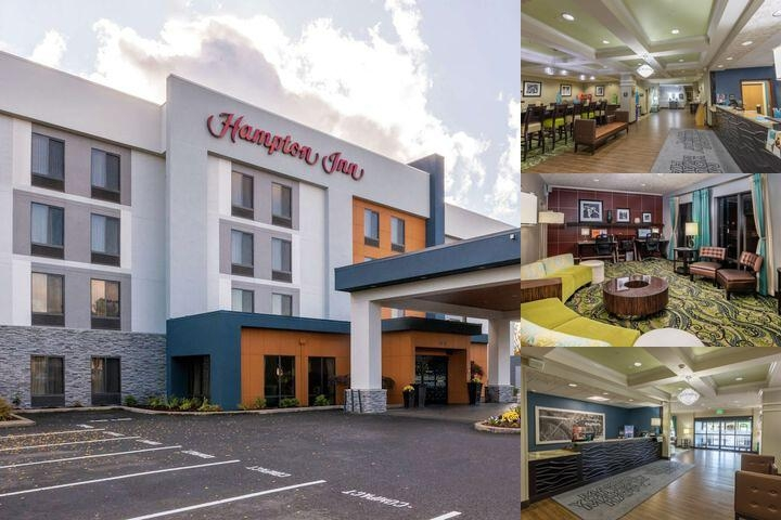 Hampton Inn Eugene photo collage
