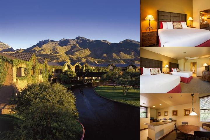 The Lodge at Ventana Canyon photo collage