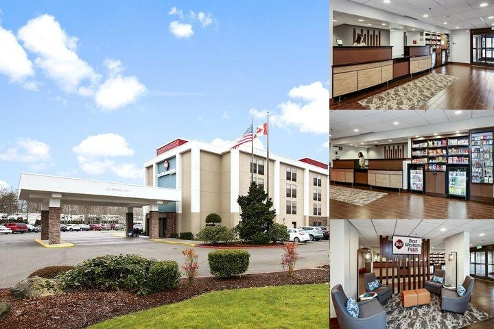 Hotel Bellingham Airport photo collage