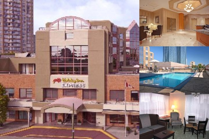 Holiday Inn Express Metrotown photo collage