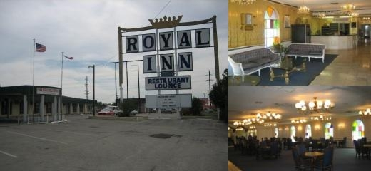 Royal Inn of Abilene Front Entrance