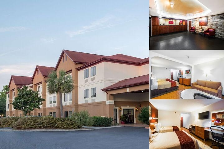 Red Roof Inn & Suites Savannah Gateway photo collage