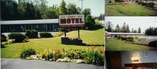 Capri Motel photo collage
