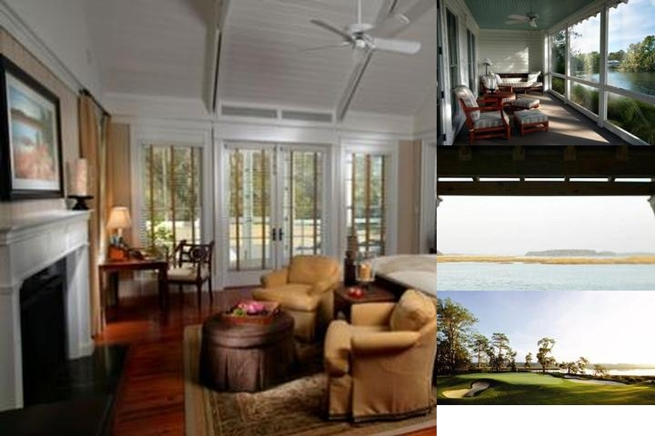 The Inn at Palmetto Bluff photo collage