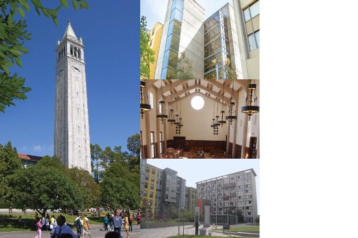 University of California Berkeley photo collage