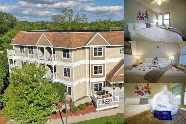 The Mill Creek Hotel photo collage