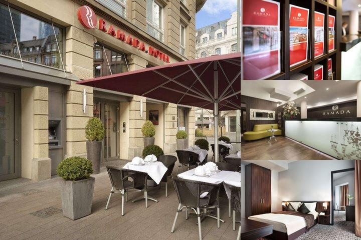Ramada Hotel Frankfurt City Center & Financial Dis photo collage