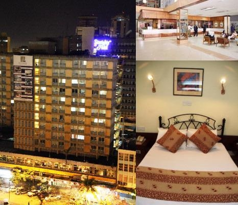 Sentrim 680 Hotel photo collage