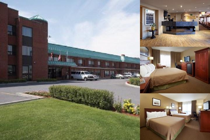 Quality Inn & Suites P.e. Trudeau Montreal photo collage