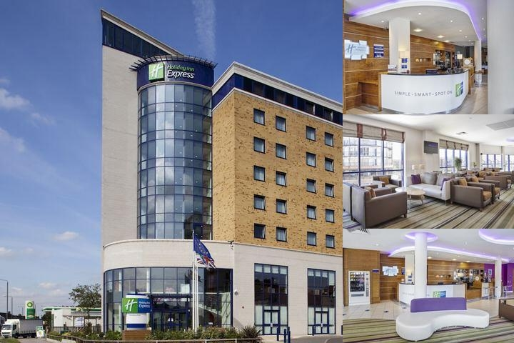 Holiday Inn Express London Newbury Park photo collage