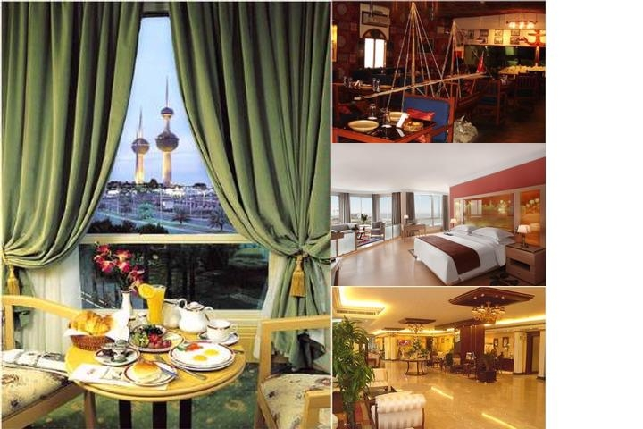 Le Royal Hotel photo collage