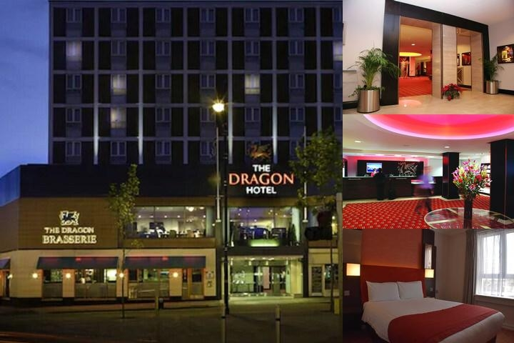 Dragon Hotel Swansea photo collage