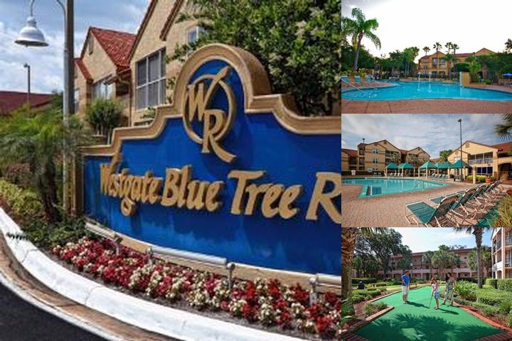 Westgate Blue Tree Resort in Lake Buena Vista photo collage