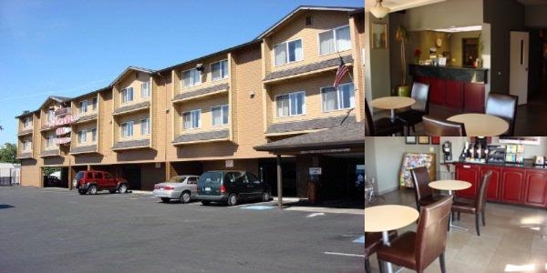 Clackamas Inn & Suites photo collage