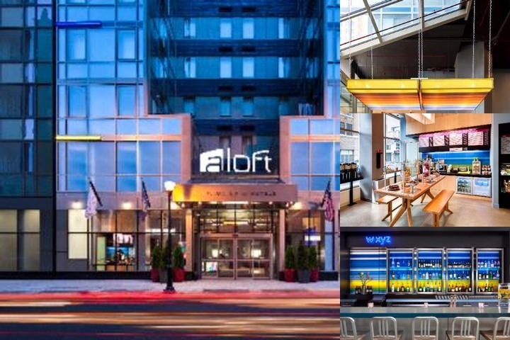 Aloft New York Brooklyn photo collage