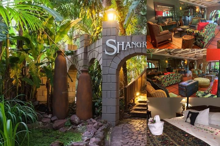 Shangri La Country Hotel photo collage