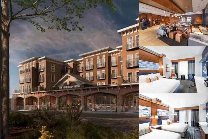 The Heathman Hotel Kirkland photo collage