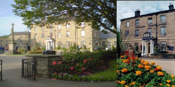 The Rutland Arms Hotel photo collage