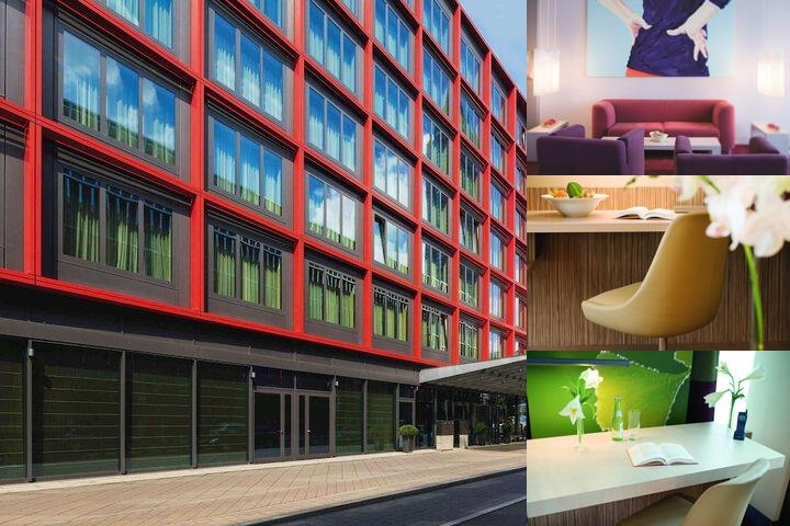 Moevenpick Hotel Frankfurt City photo collage