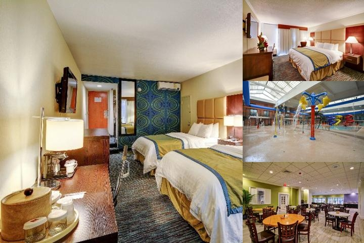 Clarion Hotel & Aqua Lagoon Waterpark photo collage