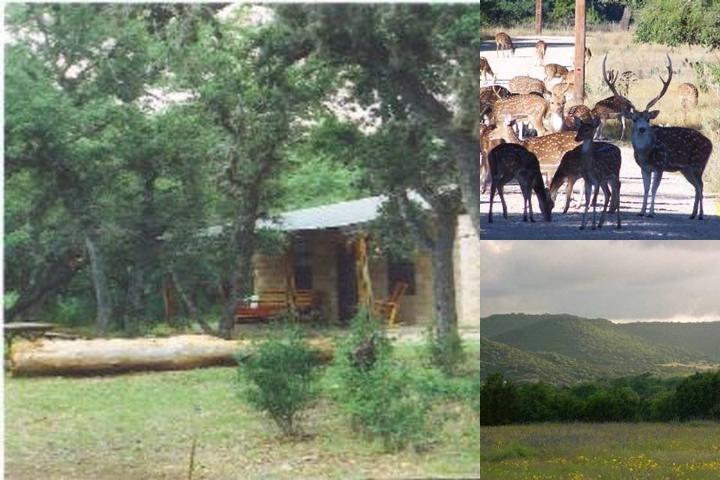 Frio River Cabins photo collage