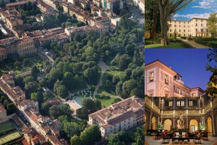 Four Seasons Florence photo collage