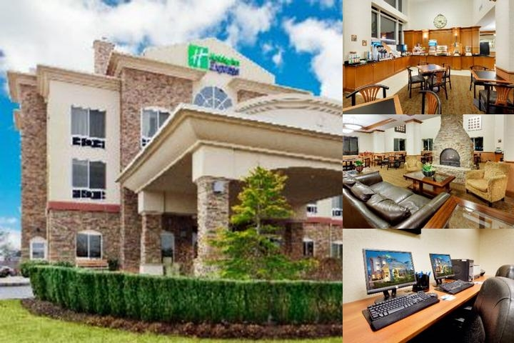 Holiday Inn Express Hotel & Suites East End photo collage
