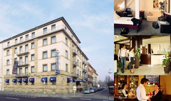 City Partner Augusta Hotel photo collage