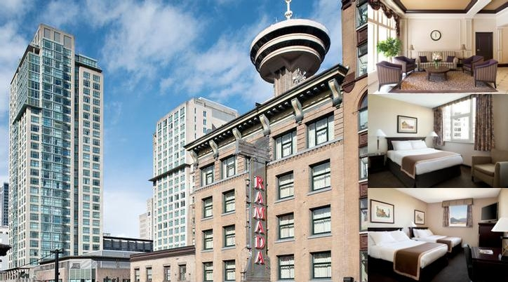 Ramada Limited Downtown Vancouver photo collage