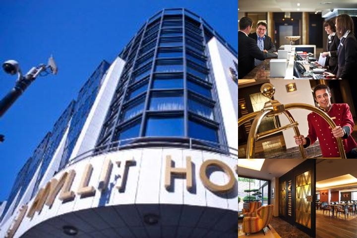 Hyllit Hotel photo collage