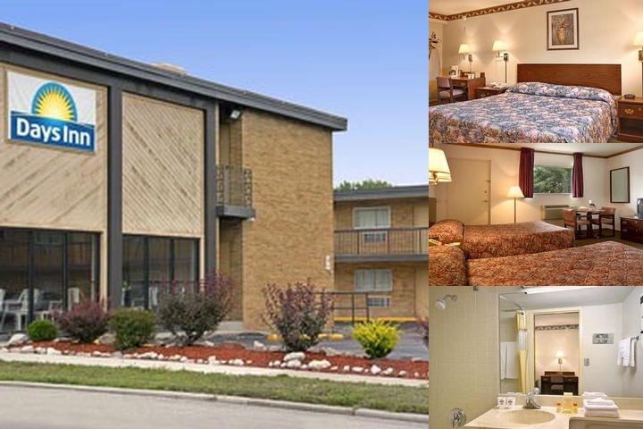 Days Inn Milwaukee photo collage