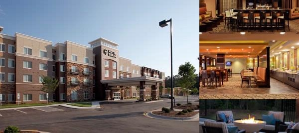 Hyatt House Raleigh Durham Airport photo collage