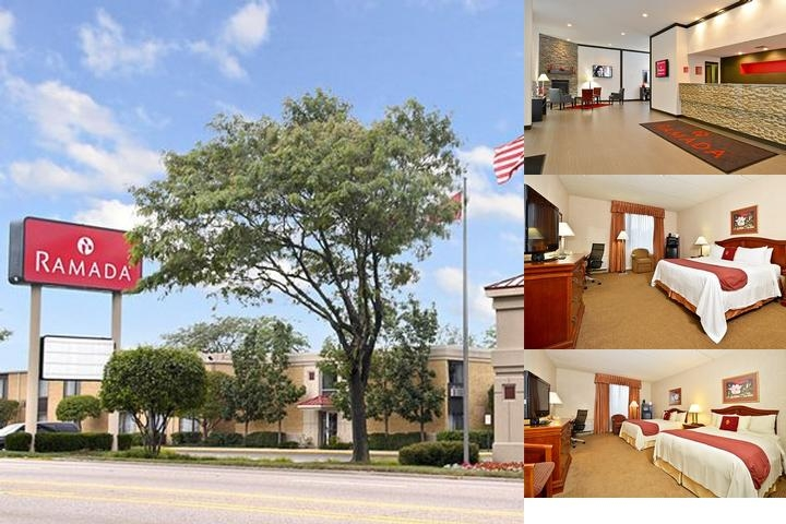 Ramada Waukegan photo collage