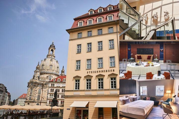 Steigenberger Hotel De Saxe Dresden photo collage