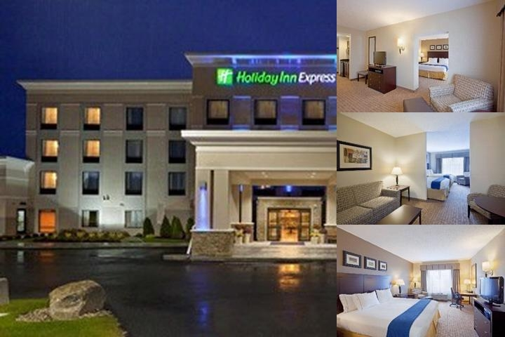 Holiday Inn Express Hotel & Suites Malone photo collage